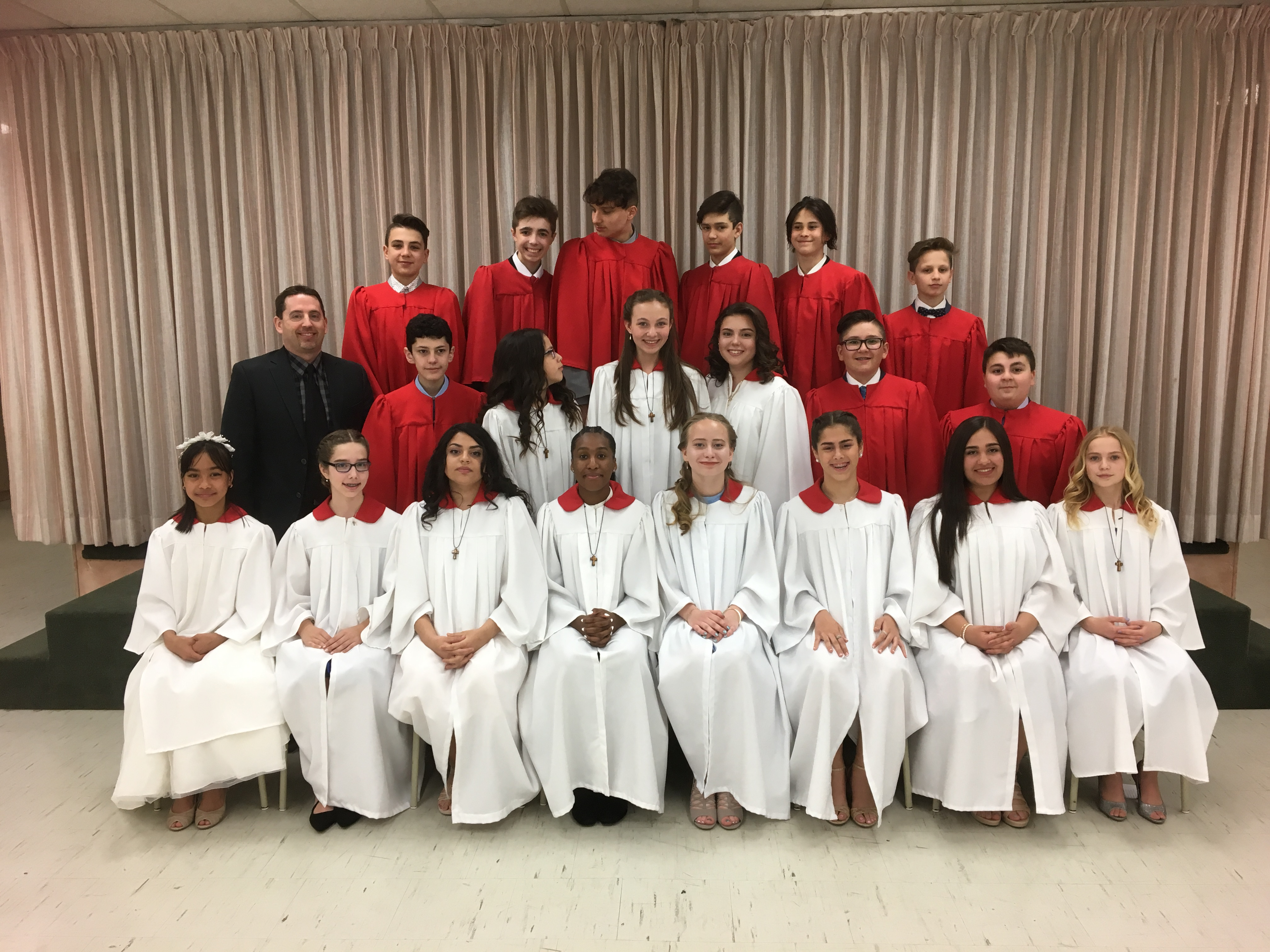 Confirmation Class 2018 at Mary Fix Catholic School (May 8, 2018)